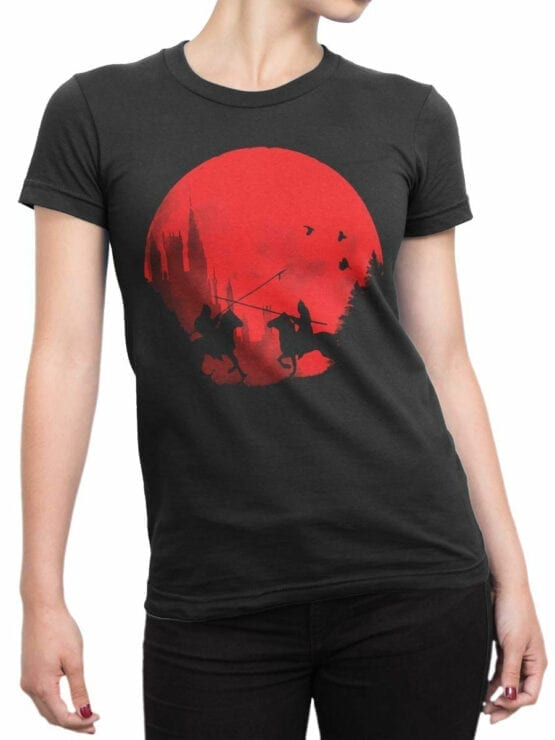 0864 Knight Shirt Sunset Front Woman