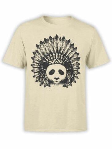 0866 Panda Shirt Indian Front