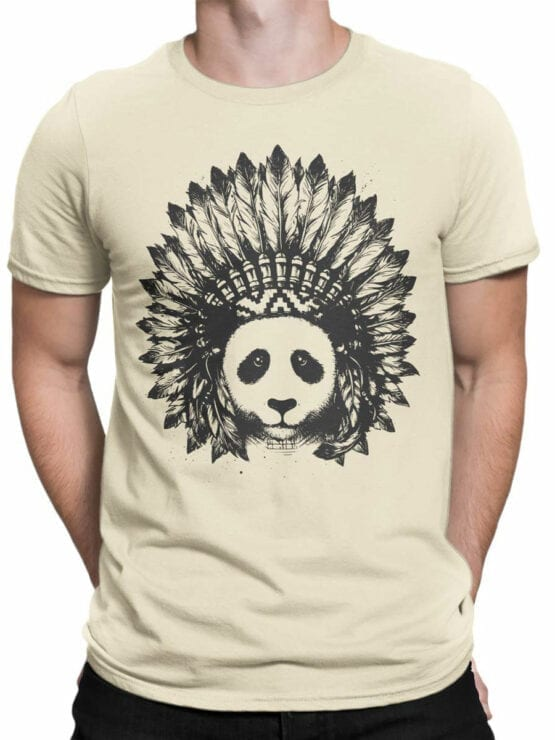 0866 Panda Shirt Indian Front Man
