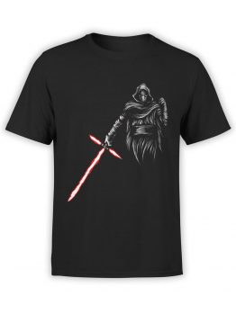 0871 Star Wars T Shirt Kylo Ren Front