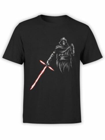 0871 Star Wars T Shirt Kylo Ren Front