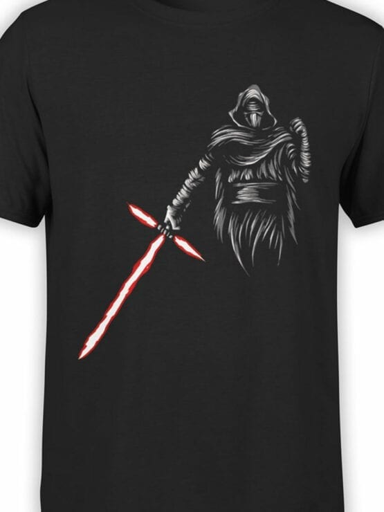 0871 Star Wars T Shirt Kylo Ren Front Color