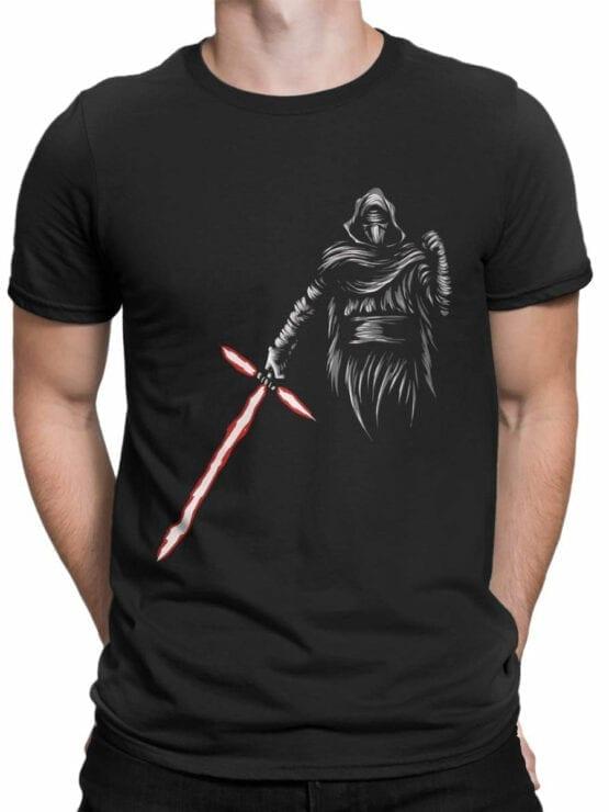 0871 Star Wars T Shirt Kylo Ren Front Man