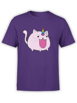 0872 Unicorn Shirt Catacorn Front