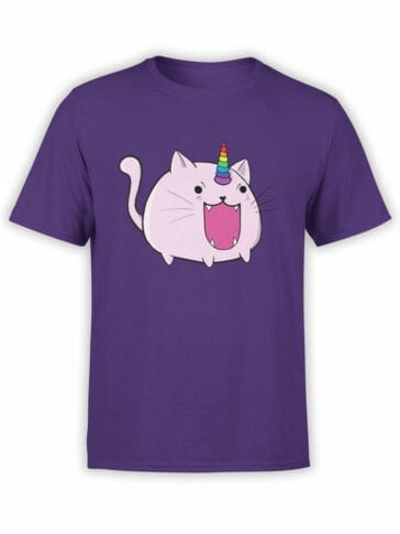 0872 Unicorn Shirt Catacorn Front
