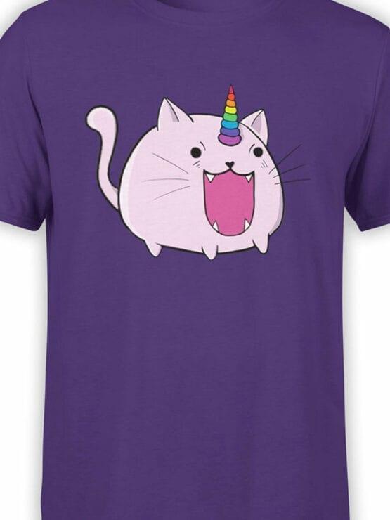 0872 Unicorn Shirt Catacorn Front Color