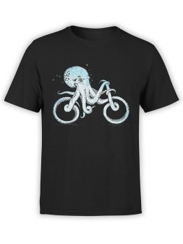 0873 Cool T Shirts Octocycle Front