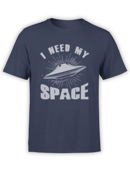 0876 NASA Shirt My Space Front