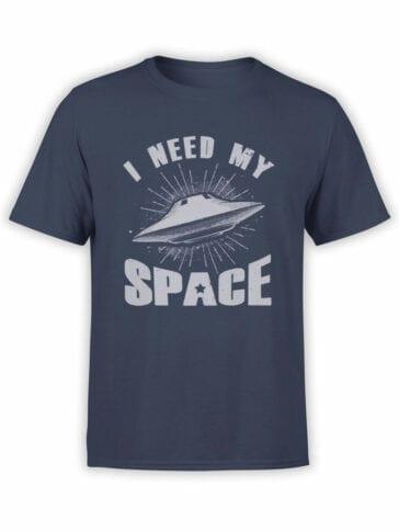 0876 NASA Shirt My Space Front