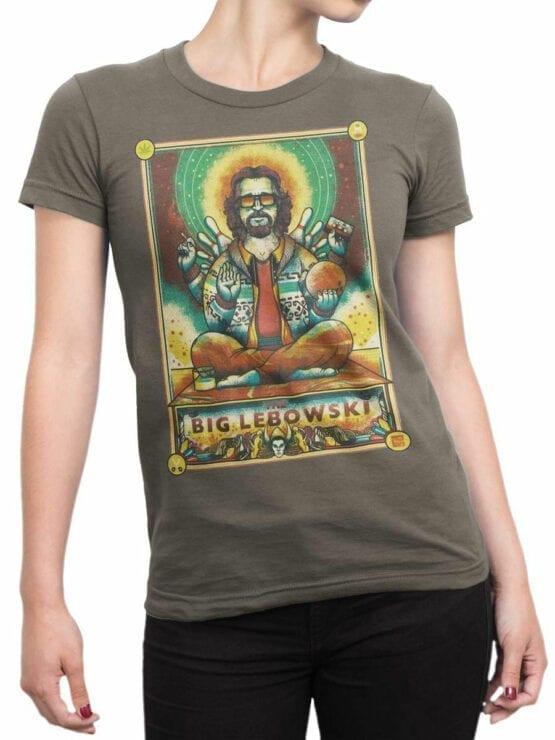 0877 Big Lebowski T Shirt Dude Nirvana Front Woman