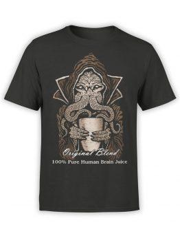 0879 Monster Shirt Brain Juice Front