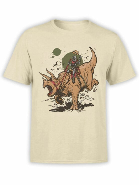 0880 Dinosaur Shirt RoboRider Front