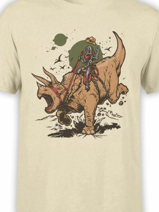 0880 Dinosaur Shirt RoboRider Front Color
