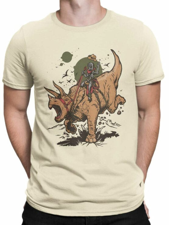 0880 Dinosaur Shirt RoboRider Front Man