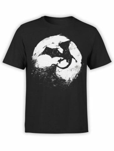 0883 Dragon Shirt I am Fire Front