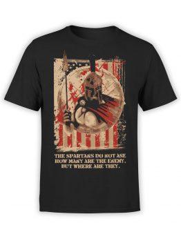 0884 Patriotic Shirts USA Spartans Front
