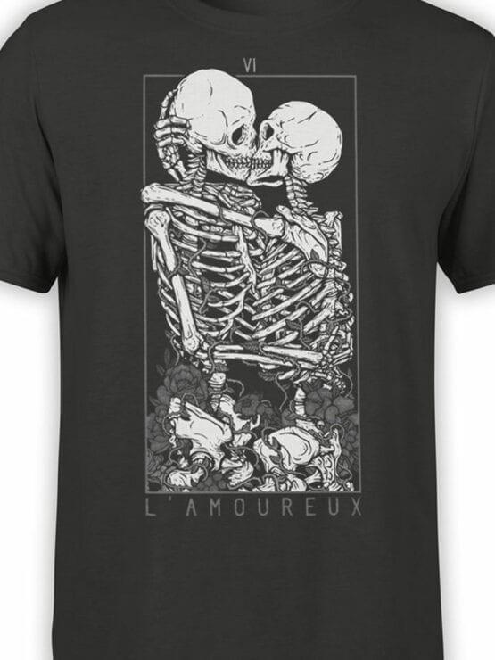 0885 Romantic Shirt Love Front Color