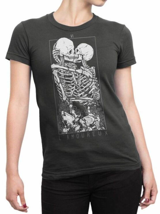 0885 Romantic Shirt Love Front Woman