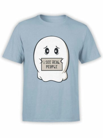 0890 Ghost Shirt Real People Front