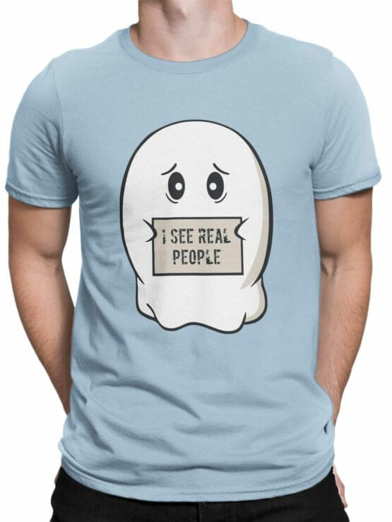 0890 Ghost Shirt Real People Front Man