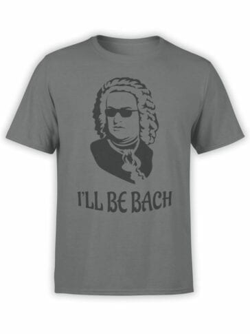0891 Funny T Shirts Bach Front