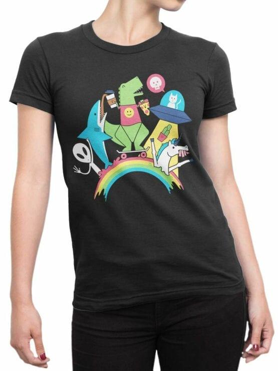 0893 Cool T Shirt Friends Front Woman