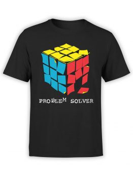 0901 Funny T Shirts Problem Solver Front