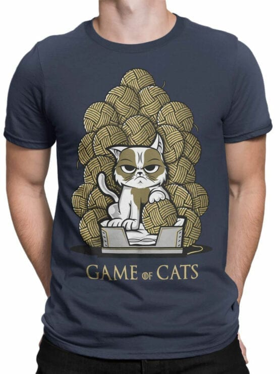 0902 Game of Thrones Shirt Game of Cats Front Man