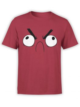 0903 Angry Shirts Red Rage Front