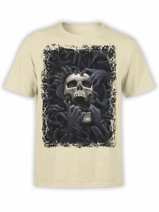 0907 Horror Shirt Hell Front
