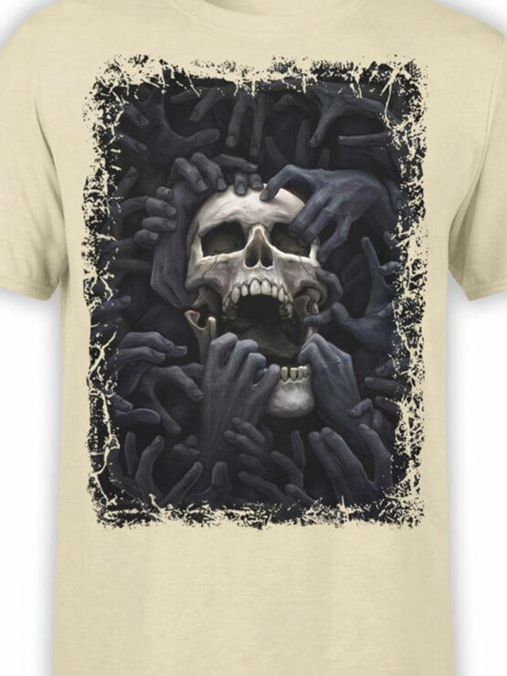 0907 Horror Shirt Hell Front Color