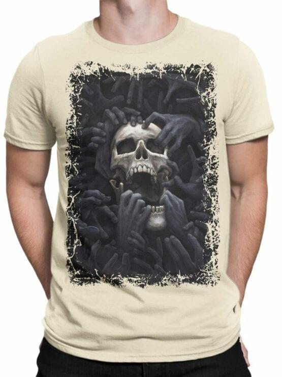 0907 Horror Shirt Hell Front Man