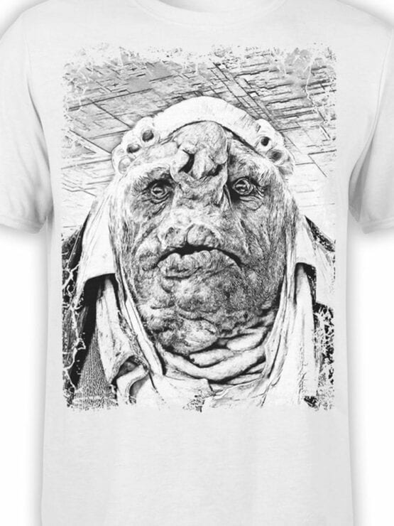 0908 The Hitchhikers Guide to the Galaxy Shirt Vogon Front Color