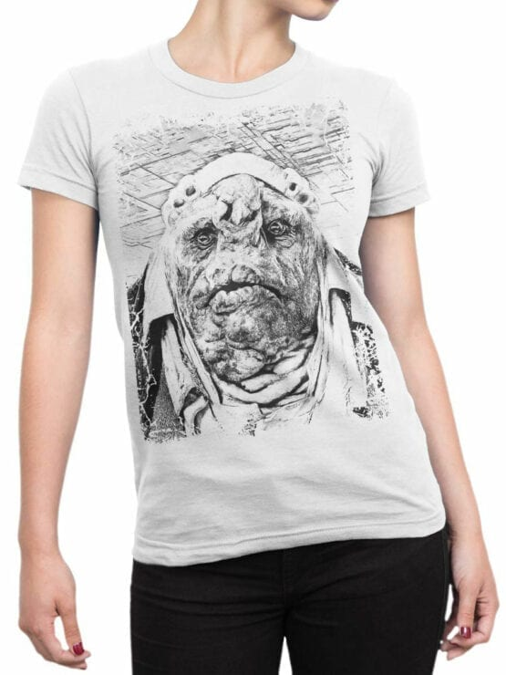 0908 The Hitchhikers Guide to the Galaxy Shirt Vogon Front Woman