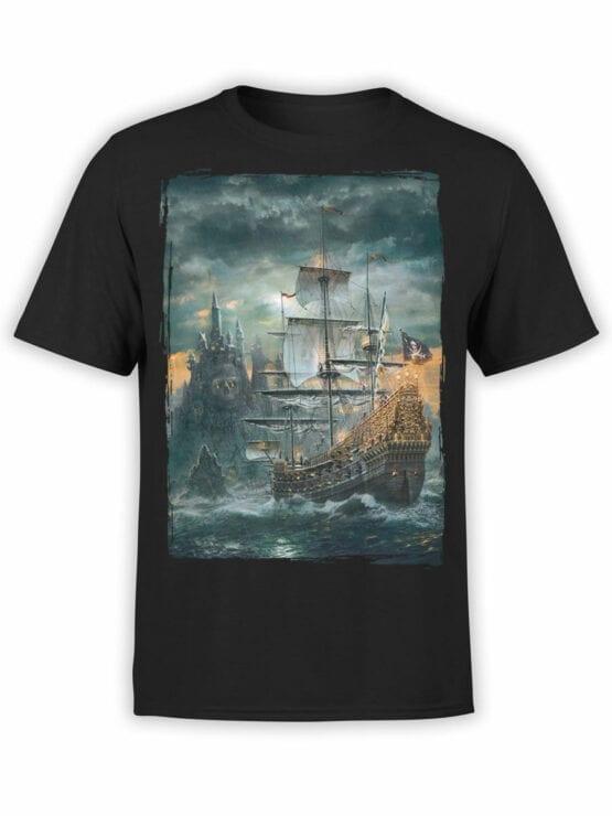 0909 Pirate Shirt Island Front