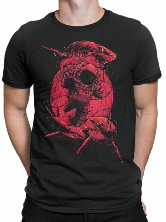 0911 NASA Shirt Astroshark Front Man