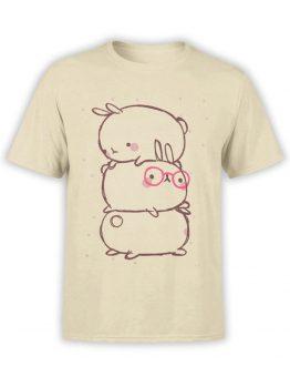 0914 Cute T Shirt Rabbits Front