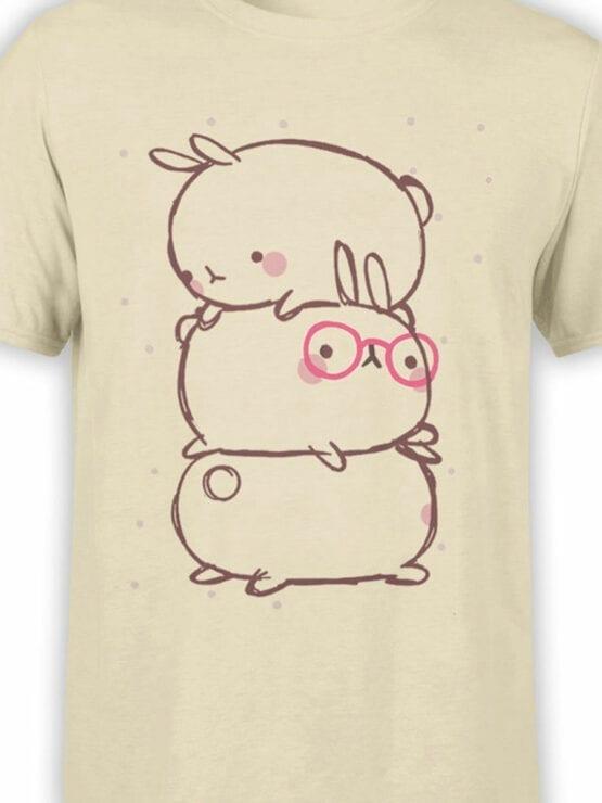 0914 Cute T Shirt Rabbits Front Color
