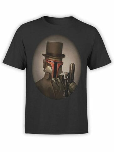 0916 Star Wars Shirt Mr Boba Fett Front