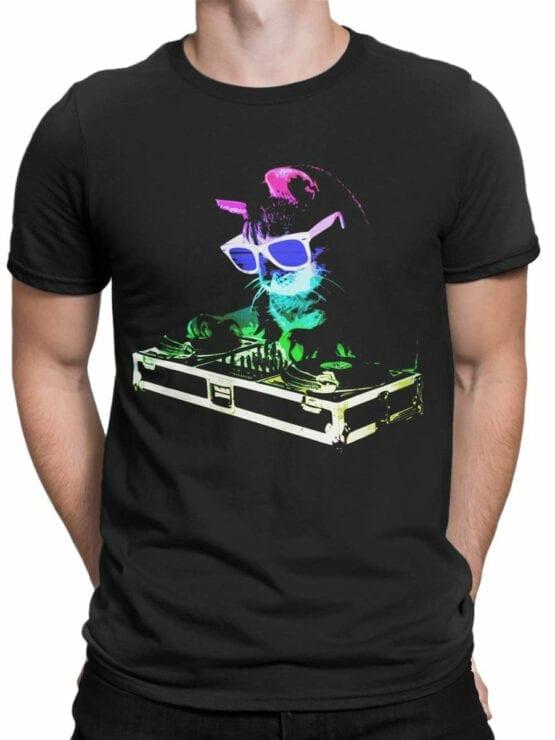 0919 Cat Shirt DJ Catto Front Man