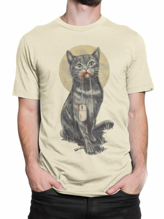 0922 Cat T Shirt My Mouse Front Man 2