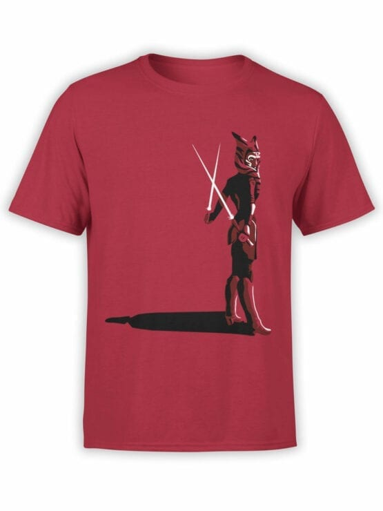 0924 Star Wars Shirt Ahsoka Tano Front