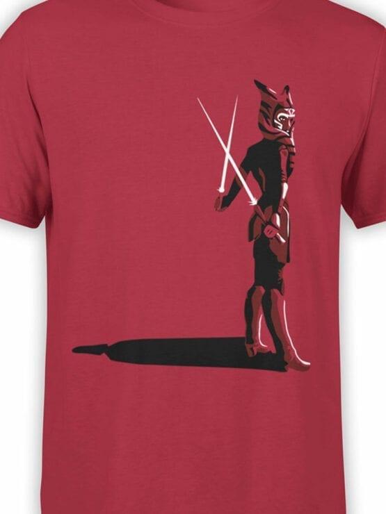0924 Star Wars Shirt Ahsoka Tano Front Color