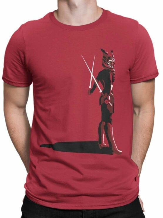 0924 Star Wars Shirt Ahsoka Tano Front Man