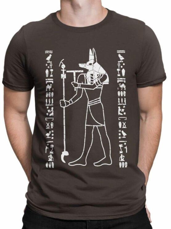 0929 Cool T Shirt Anubis Front Man