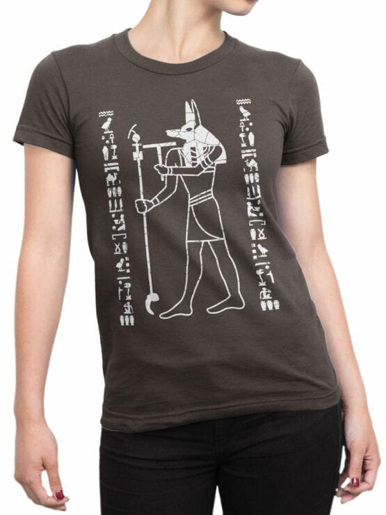 0929 Cool T Shirt Anubis Front Woman