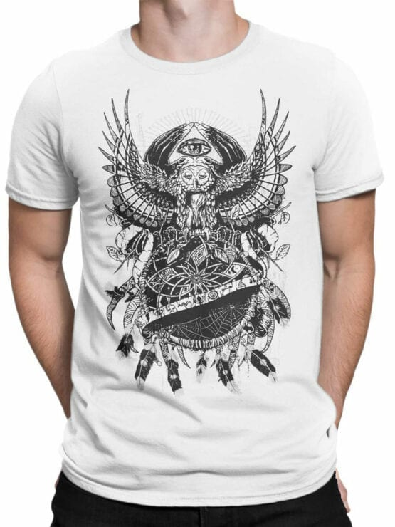 0932 Cool Shirts Night Front Man