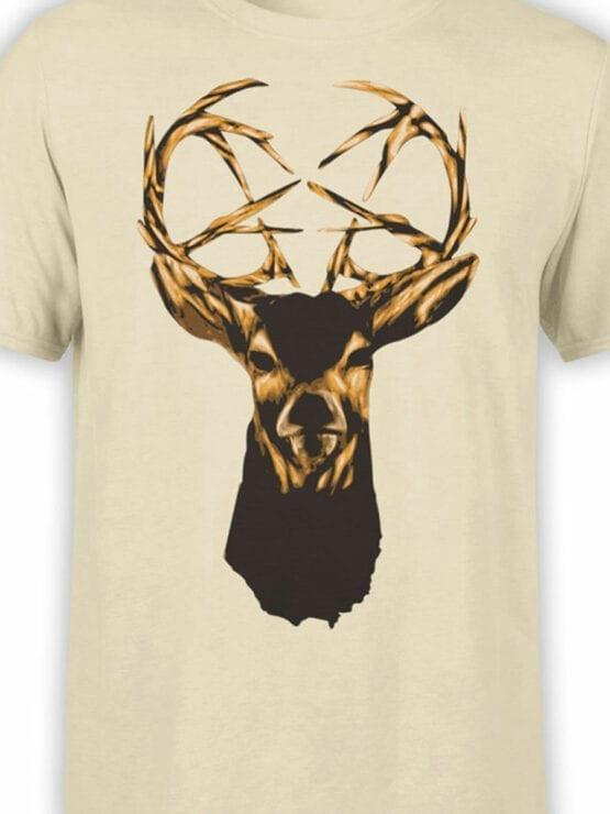 0939 Cool Shirt Deer Front Color