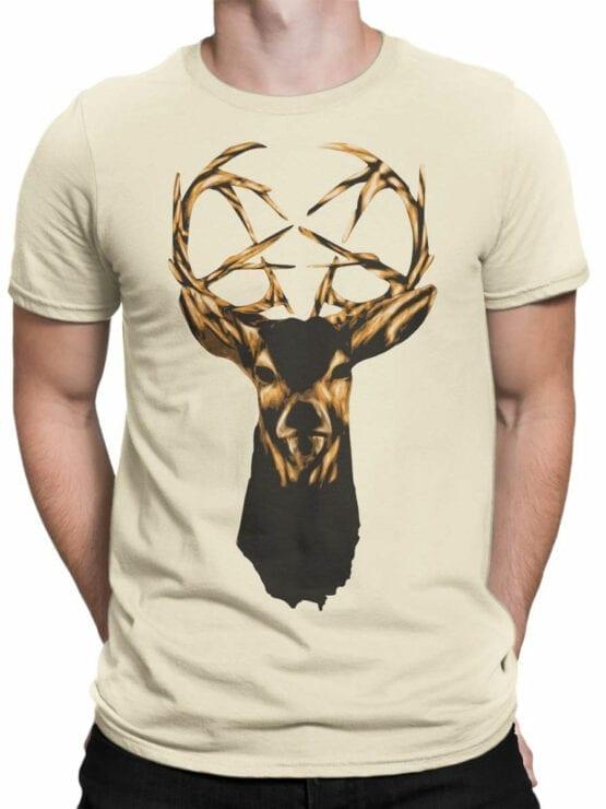 0939 Cool Shirt Deer Front Man