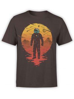 0946 NASA Shirt Astronaut Front